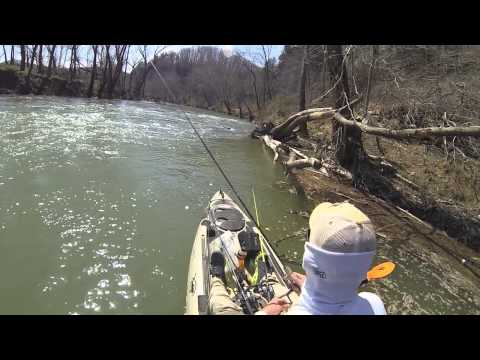Kayak Fishing the Harpeth River