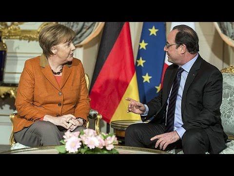 Στρασβούργο: Τετ α τετ Μέρκελ – Ολάντ για προσφυγική κρίση και Brexit
