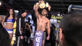 Keith Thurman vs Jesus Soto Karass WEIGH IN   Fighters Trash Talk Face Off!