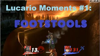 [Wii U/3DS] Lucario Moments  1: Footstools Kill