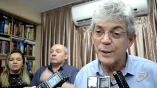 Entrevista com o governador Ricardo Coutinho em Sousa