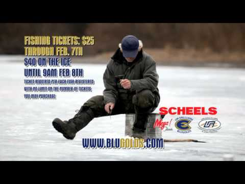 The Jig's Up - Blugold Ice Fishing Contest - February 8, 2014