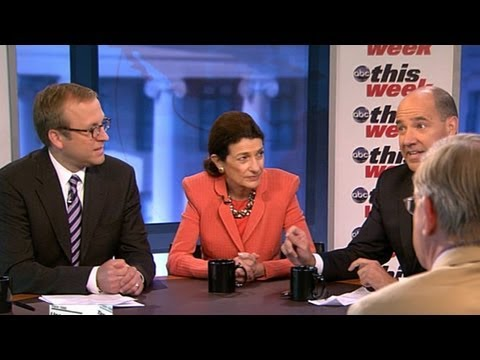 IRS - George Will, Olympia Snowe, Donna Brazile, Matthew Dowd, and Jonathan Karl.