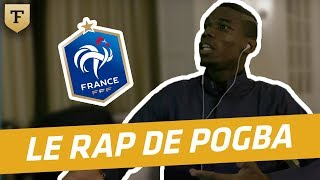 Video Au coeur des Bleus : le rap de Pogba en mode freestyle ! MP3, 3GP, MP4, WEBM, AVI, FLV Juli 2017