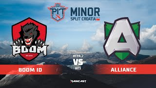 BOOM ID vs Alliance (карта 2), OGA Dota PIT Minor 2019, | Плей-офф