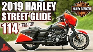 3. 2019 Harley-Davidson Street Glide 114 TEST RIDE (+NEW Infotainment!)