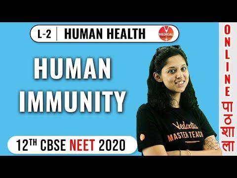Neet Biology | Human Health - 2 | Human Immunity | Vedantu Master Teacher | Dr. Vani