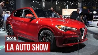 Alfa Romeo gets into the SUV business with the Stelvio by Roadshow