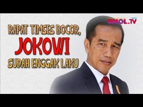 Rapat Timses Bocor, Jokowi Sudah Enggak Laku