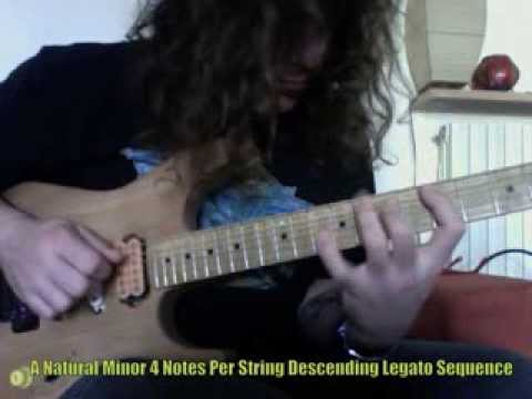 Roberto Vanni: 4 Notes Per String Legato