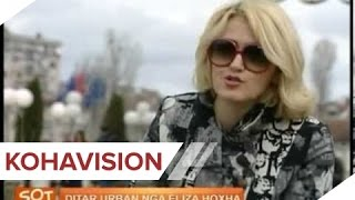 SOT LIBRI QYTETI DHE DASHURIA, DITAR URBAN NGA ELIZA HOXHA 08 04 2013