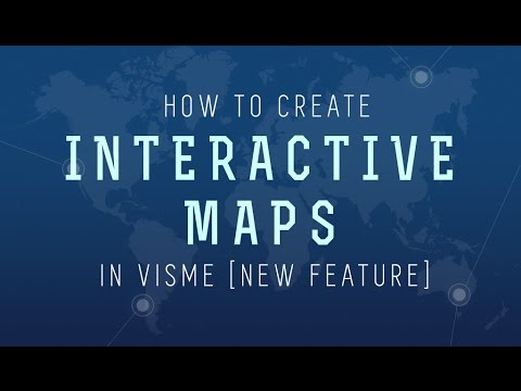 How to Create an Interactive Map with Visme | Visual ...