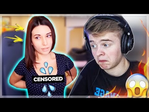 Jaxstyle Reagerer På: HOTTEST TWITCH MOMENTS!! (GIRL STREAMERS)