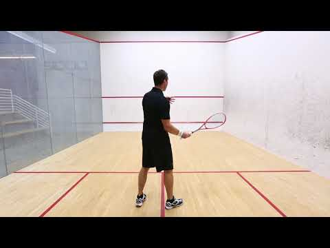 Squash tips: David Palmer on attacking T position