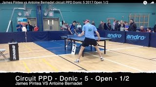 Circuit PPD Donic 5 (March 2017) Open 1/2.