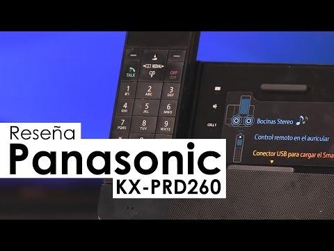 Conoce el teléfono inalámbrico KX-PRD260 con Bluetooth de Panasonic