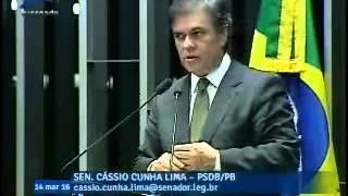 """Cássio: """"Semipresidencialismo ou semiparlamentarismo, Não!"""""""