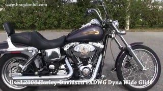 3. 2004 Harley Davidson Dyna Wide Glide for sale in Brandon FL