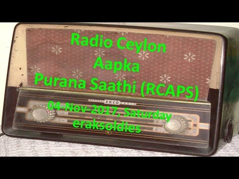 Video Radio Ceylon 04-11-2017~Saturday Morning~02 Purani Filmon Ka Sangeet download in MP3, 3GP, MP4, WEBM, AVI, FLV January 2017