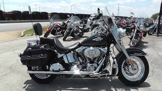 5. 013980 - 2011 Harley Davidson Heritage Softail Classic   FLSTC - Used Motorcycles for sale