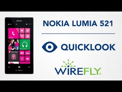 Nokia Lumia 521 Smartphone Quick Look by Wirefly
