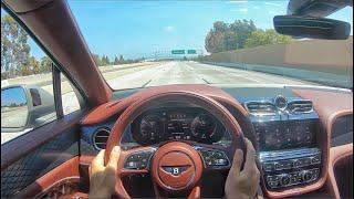 2021 Bentley Bentayga V8 POV Drive (3D Audio)(ASMR) by MilesPerHr