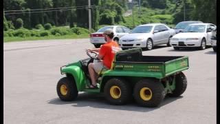 9. 1997 John Deere Diesel Gator 6x4 Online at Tays Realty & Auction, LLC