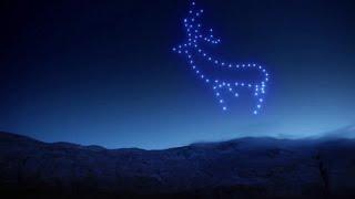 Magiczny pokaz świateł z udziałem dronów oświetlił niebo nad Szkocją