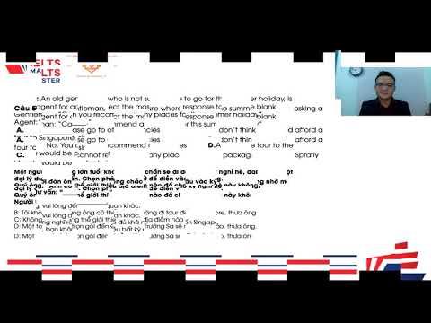Chuyên Đề: Câu Giao Tiếp (THPTQG) - THCS & THPT Phạm Ngũ Lão và IELTS Master HCM