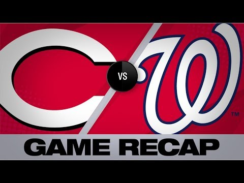 Video: Nats score 10 in the 5th to power past Reds | Reds-Nationals Game Highlights 8/14/19