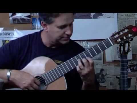 Classical Guitar, Learn Endenche-Oremus( Tarrega ), james Hunley