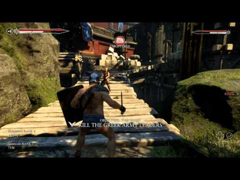 Ryse: Son Of Rome - Online Co-op Multiplayer Arena 3 Levels
