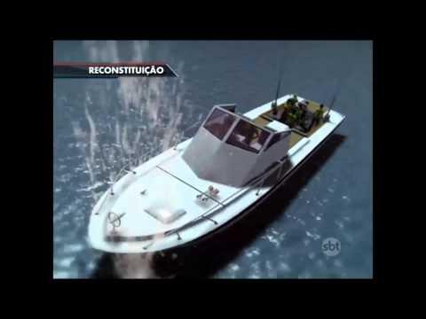 SBT Brasil (30/11/15) Naufrágio em Angra dos Reis deixa 5 desaparecidos