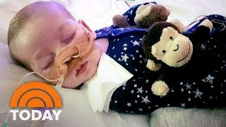 Charlie Gard, the 11-month-old British boy with a rare genetic disease, has been granted U.S. citizenship. The move could pave the way for him to travel to America to receive experimental treatment for his terminal illness. » Subscribe to TODAY: http://on.today.com/SubscribeToTODAY» Watch the latest from TODAY: http://bit.ly/LatestTODAYAbout: TODAY brings you the latest headlines and expert tips on money, health and parenting. We wake up every morning to give you and your family all you need to start your day. If it matters to you, it matters to us. We are in the people business. Subscribe to our channel for exclusive TODAY archival footage & our original web series.  Connect with TODAY Online!Visit TODAY's Website: http://on.today.com/ReadTODAYFind TODAY on Facebook: http://on.today.com/LikeTODAYFollow TODAY on Twitter: http://on.today.com/FollowTODAYFollow TODAY on Google+: http://on.today.com/PlusTODAYFollow TODAY on Instagram: http://on.today.com/InstaTODAYFollow TODAY on Pinterest: http://on.today.com/PinTODAYCharlie Gard, 11-Month-Old Baby With Rare Genetic Disease, Reportedly Granted US Citizenship  TODAY