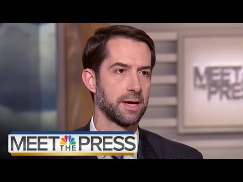 Senator Tom Cotton: 'We'll Explore' All Russia Leads (Full Interview) | Meet The Press | NBC News