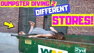 Video OUR SECRET DUMPSTER DIVING SPOT WAS LOADED! NIGHT #322 MP3, 3GP, MP4, WEBM, AVI, FLV Juli 2019