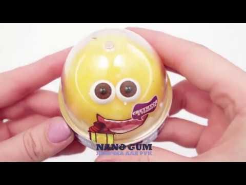 Жвачка для Рук NANO GUM «Желтое свечение» 25 гр.