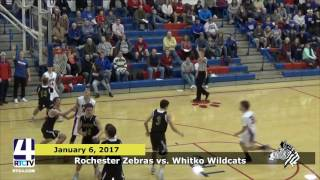 Rochester Boys Basketball vs Whitko