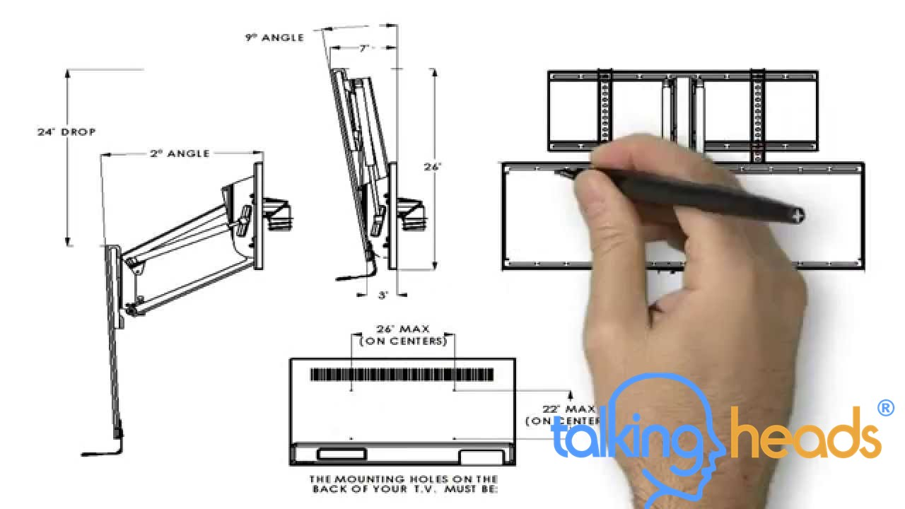 Whiteboard Animation - Mantel Mount