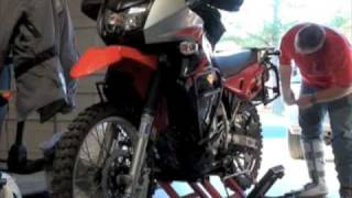 5. 2008 KLR 650 suffers minor damage after hitting deer
