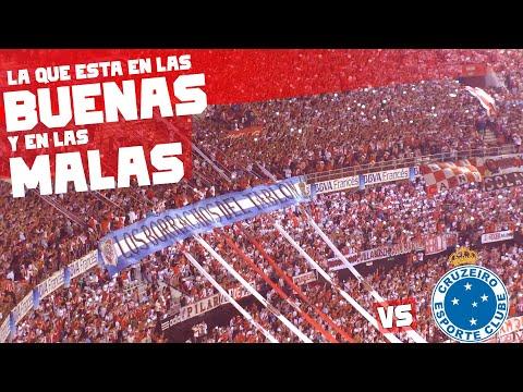 Video - QUIERO DAR LA VUELTA + FIESTA - River Plate vs Cruzeiro - Copa Libertadores 2015 - Los Borrachos del Tablón - River Plate - Argentina