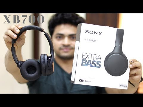 Sony WH-XB700 Bluetooth Headphones | Best Bluetooth Headphones | Tech Unboxing 🔥