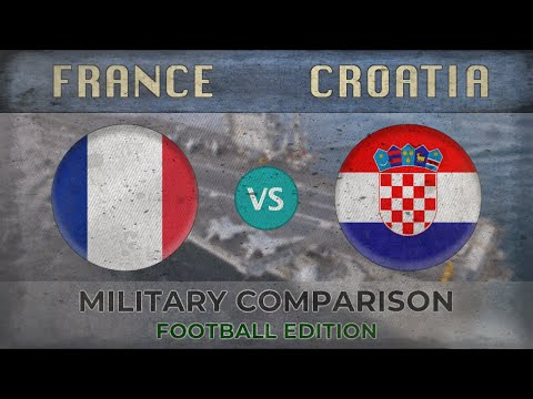 FRANCE vs CROATIA - Army Comparison - 2018 (FOOTBALL EDITION)