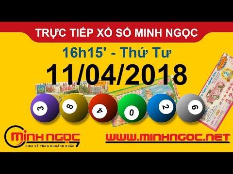 Trực tiếp xổ số MINH NGỌC T4 Ngày 11-04-2018 - Kênh Youtube chính thức từ Minhngoc.net.vn
