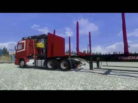 Scania 164L V8 5 various Trailer Wood v1.15
