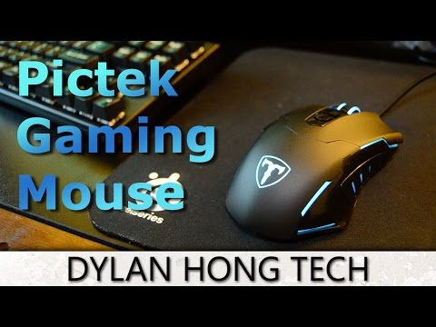 Pictek Wired Gaming Mouse  REVIEW! [DRIVER IN DESCRIPTION]