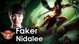 Xem thánh Faker xử lý Nidalee vi diệu thế nào