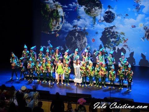 Comparsa infantil «El mundo de siempre carnaval» – Preliminares.
