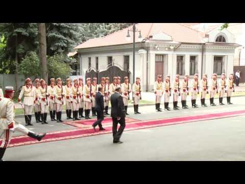 Президент Республики Молдова принял верительные грамоты послов Австрийской Республики, Республики Корея и Румынии