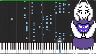 Home - Undertale [Piano Tutorial]